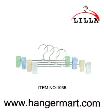 PICCOLO- vestiti metallici larghi ganci pantalone regolabile / clip gonna 27 centimetri 1035