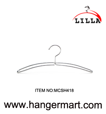 LILLA- multi-function flat style metal iron wire hanger MCSH418