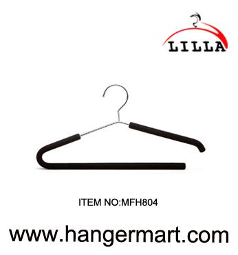 LILLA-metal hanger with black pearl cottin pad  MFH804