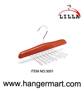 Wooden Rotating Tie Hanger