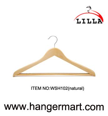 κρεμάστρες Lilla-κοστούμια WSH102(φυσικός)
