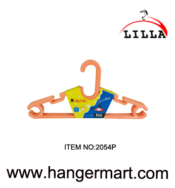 LILLA-quality plastic hangers clothes coat trouser bar skirt hooks 37cm 2054P