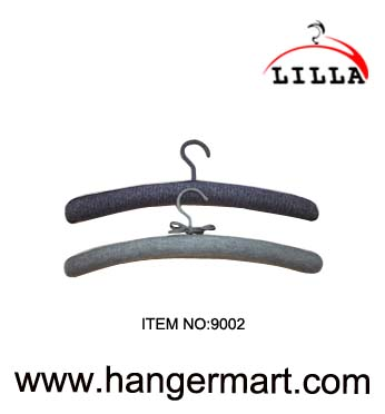Fabric coated hangers