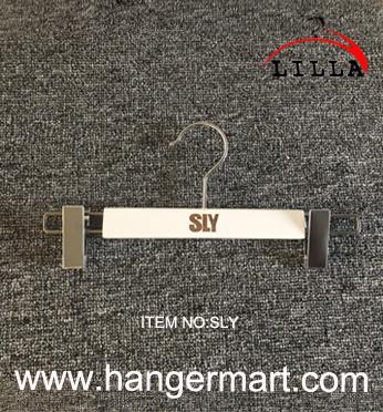 wooden pant hanger